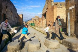 Pompeii for kids tour