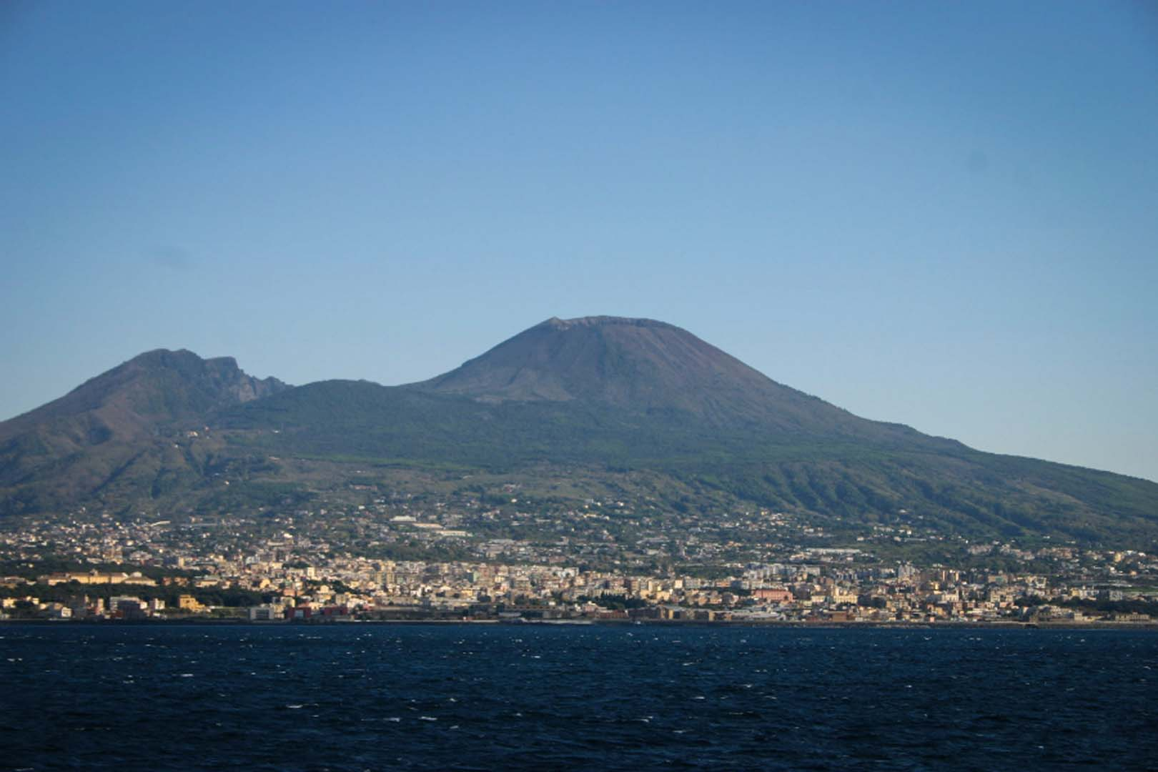 mount vesuvius Mount vesuvius is quite close to naples (and pompeii) and can be visited as a day trip from rome, naples or sorrento by public train and bus.