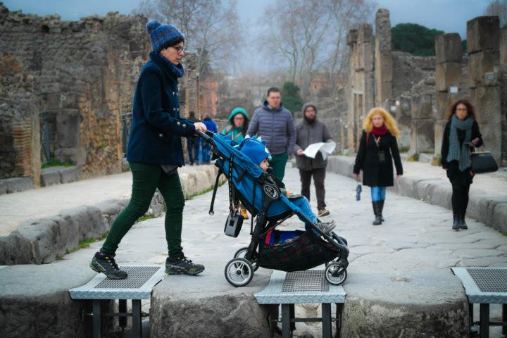 Wheelchair accessible path