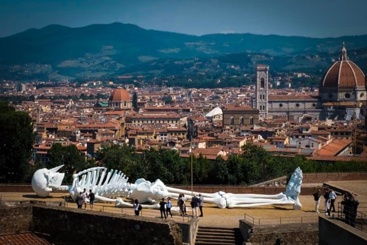 Contemporary Art exhibit in Florence