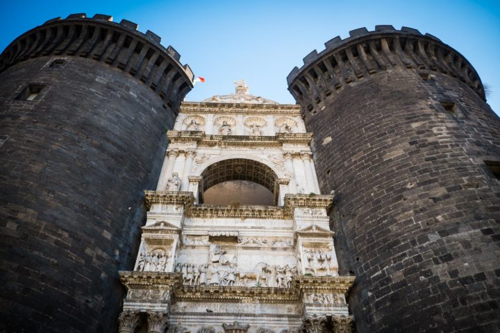 Highlights of Naples - The Caste entrance
