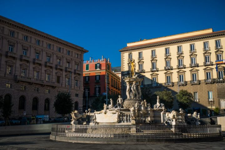 Highlights of Naples - Town Hall Square