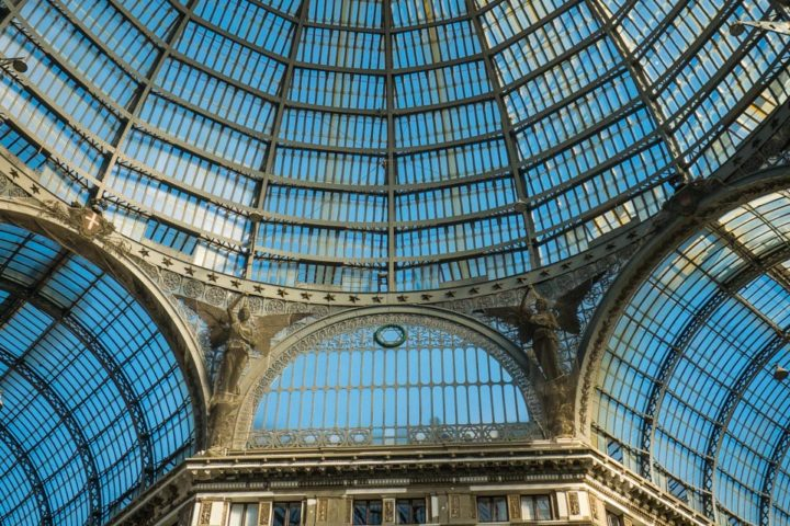 Highlights of Naples - Umberto I Gallery dome