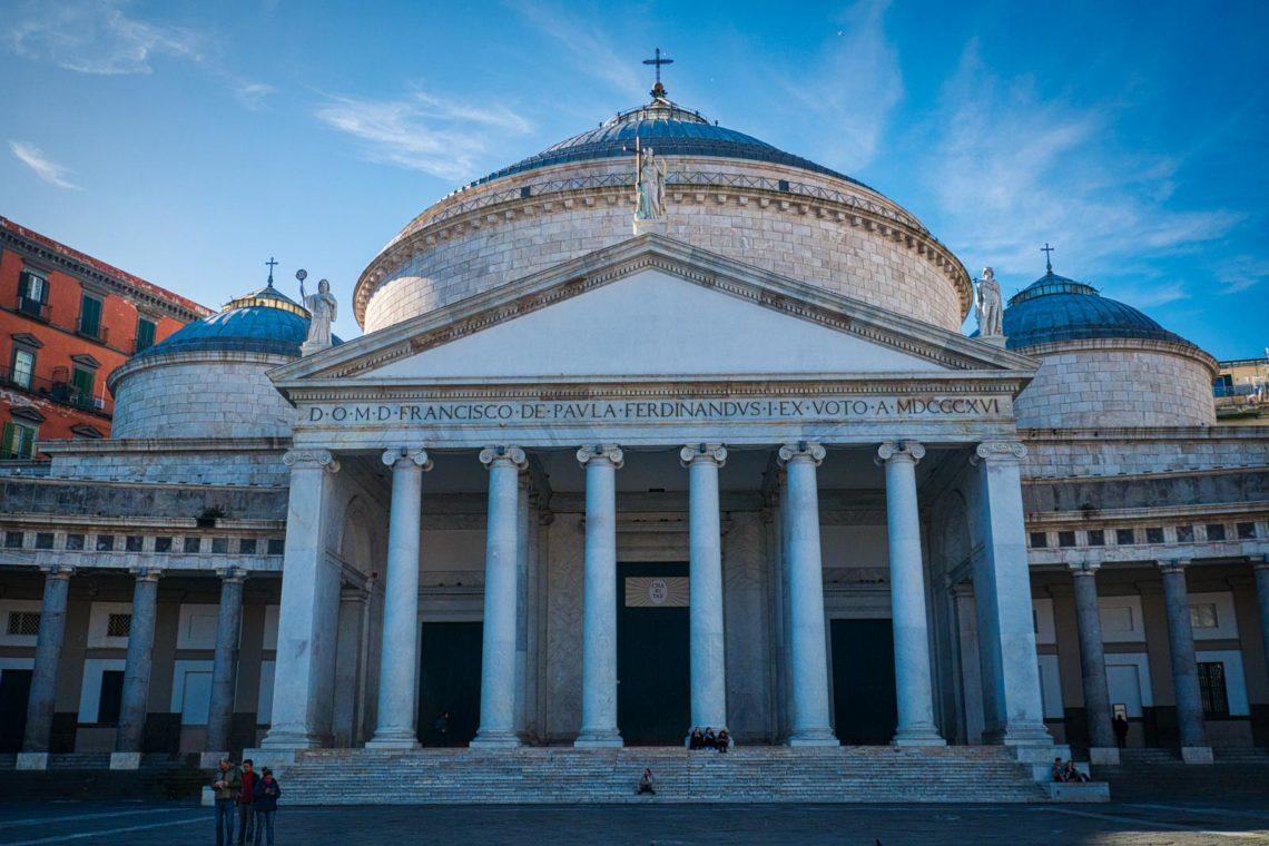 Highlights of Naples - Basilica S.Francesco di Paola