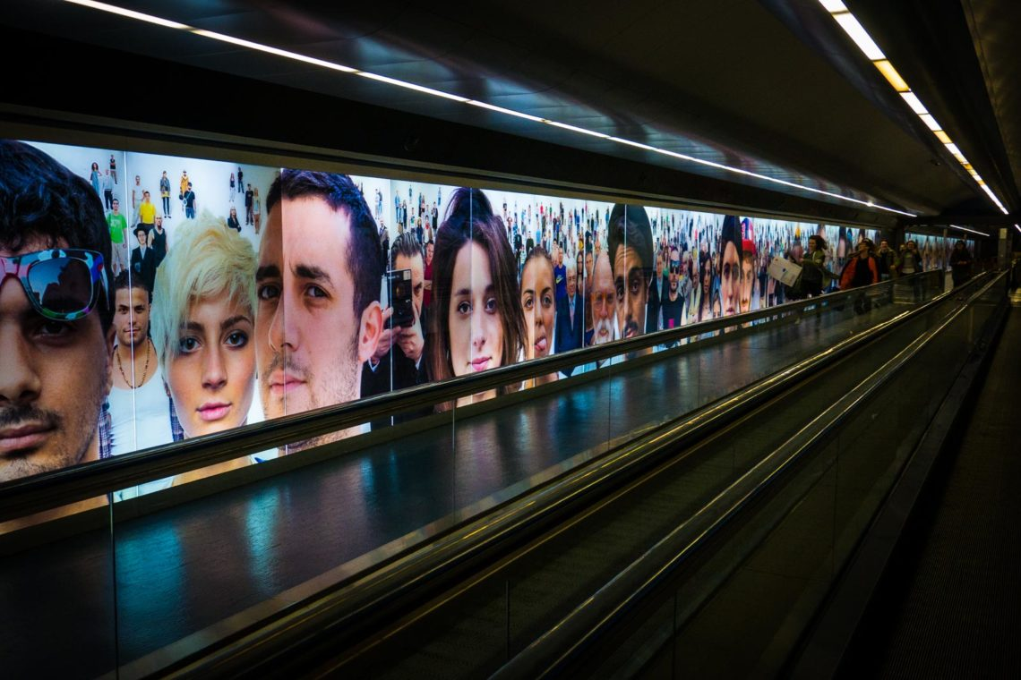 Naples Art Subway Station