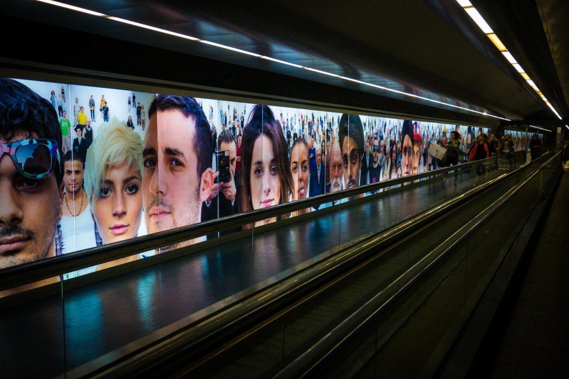 Naples Art Subway Station