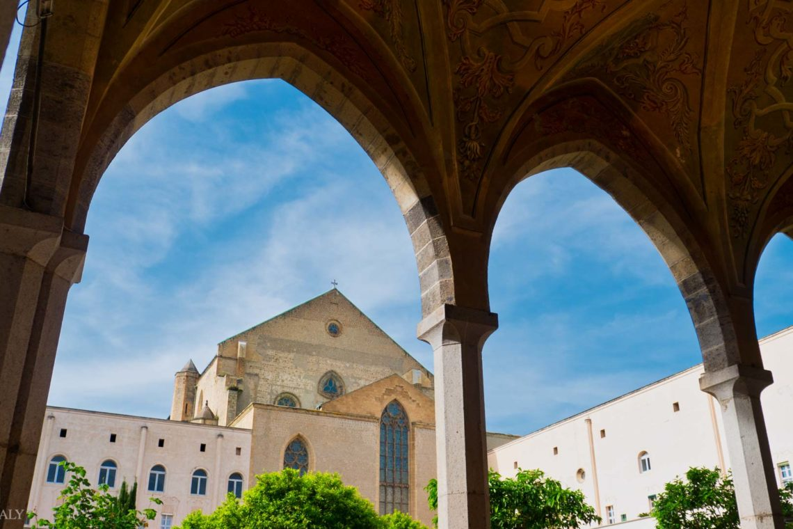 Naples Historic City Centre - Chiostro di Santa Chiara