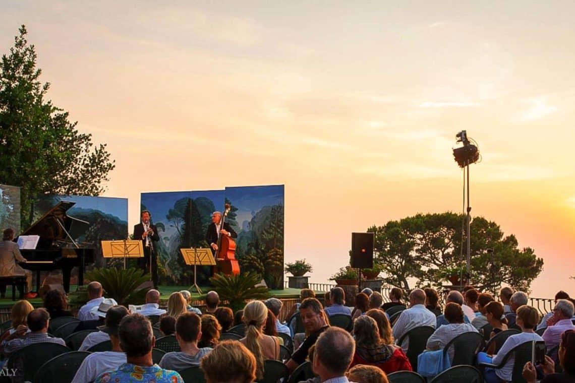 Concerti al tramonto capri - Villa San Michele