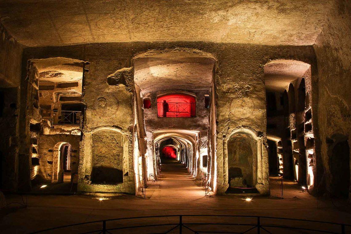 Naples Underground Catacombe di S.Gennaro 1