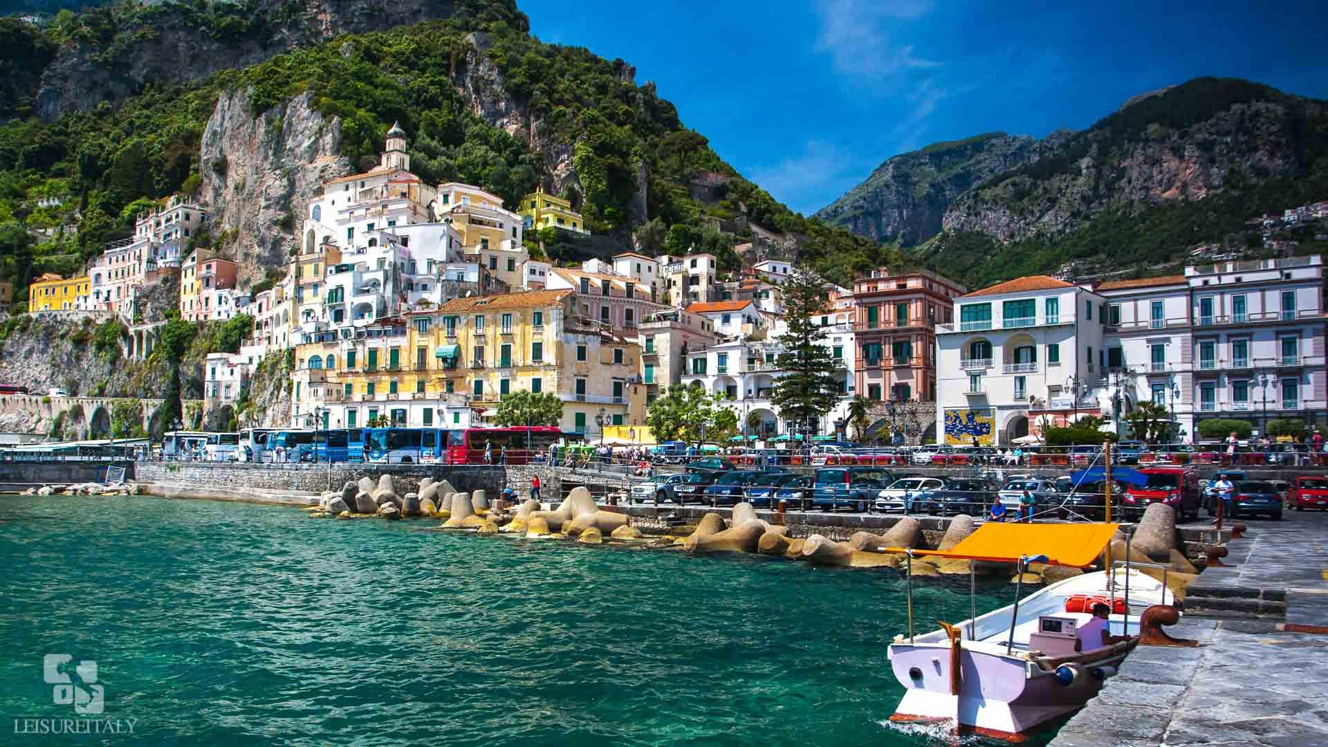Amalfi Coast With Boat Experience Leisure Italy