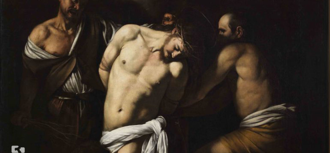 Caravaggio Napoli - One of the paintings exposed