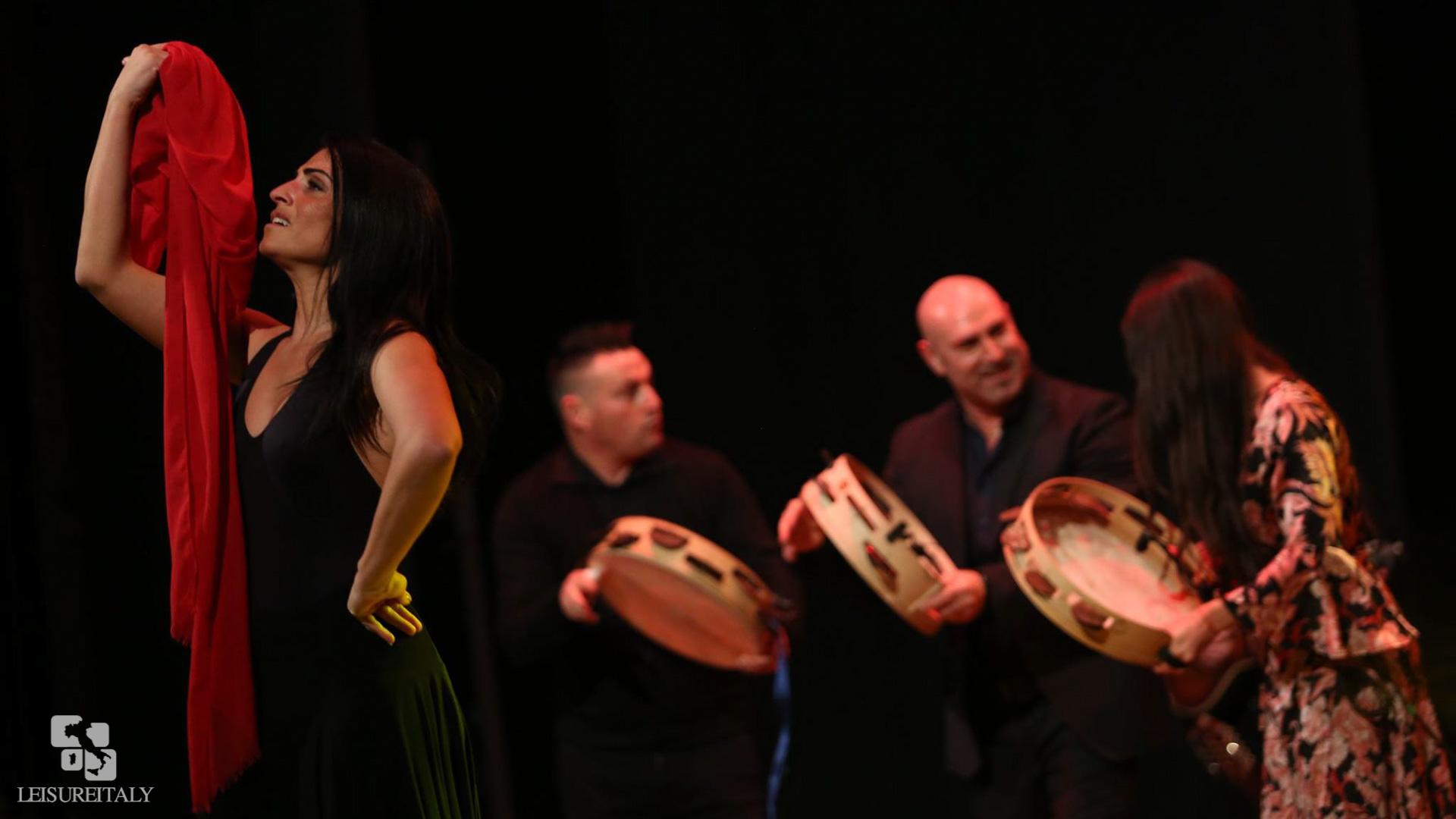Notte della Taranta Dancer and Musicians