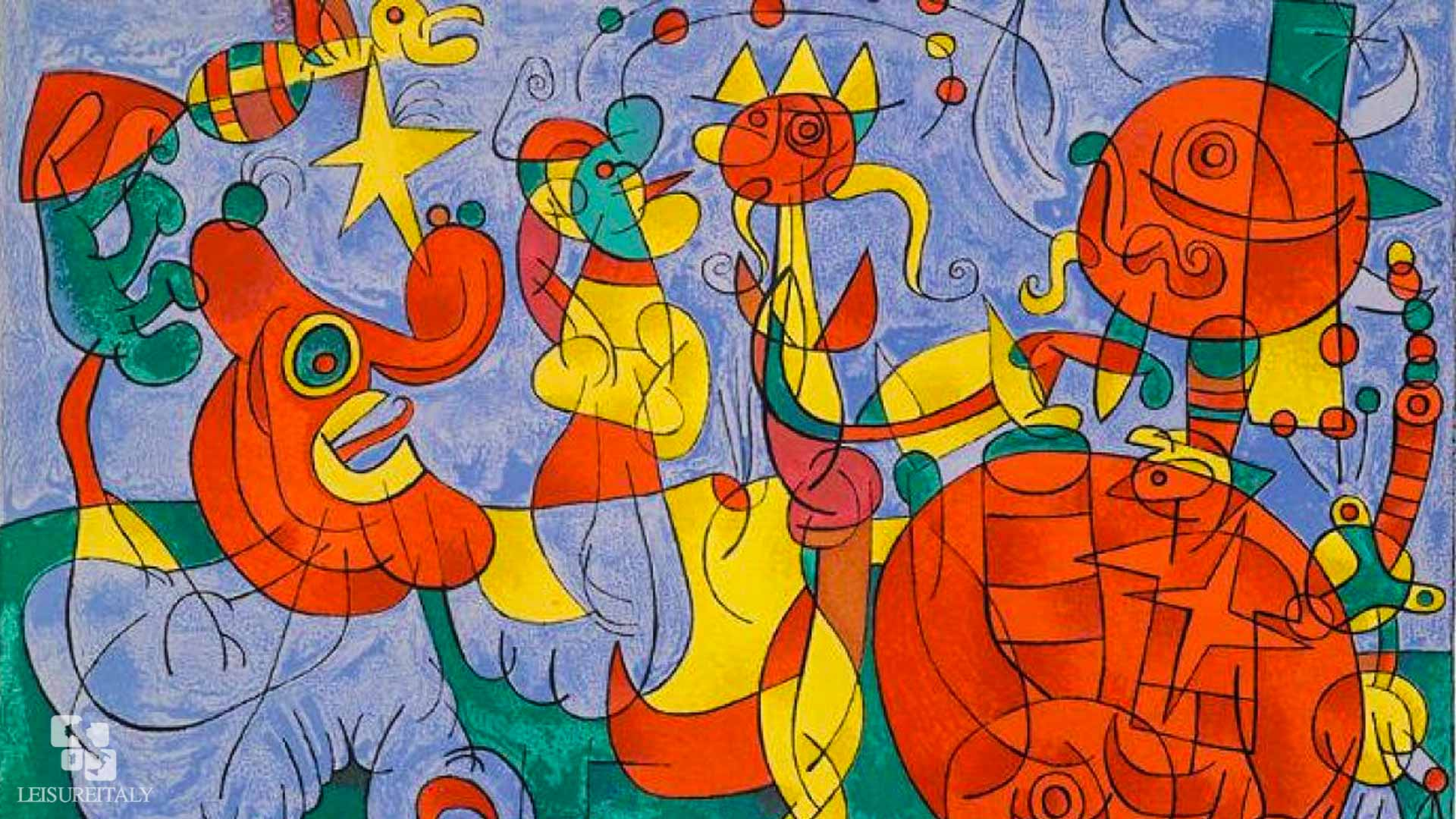 Naples Joan Miró And The Languages Of The Signs Leisure Italy