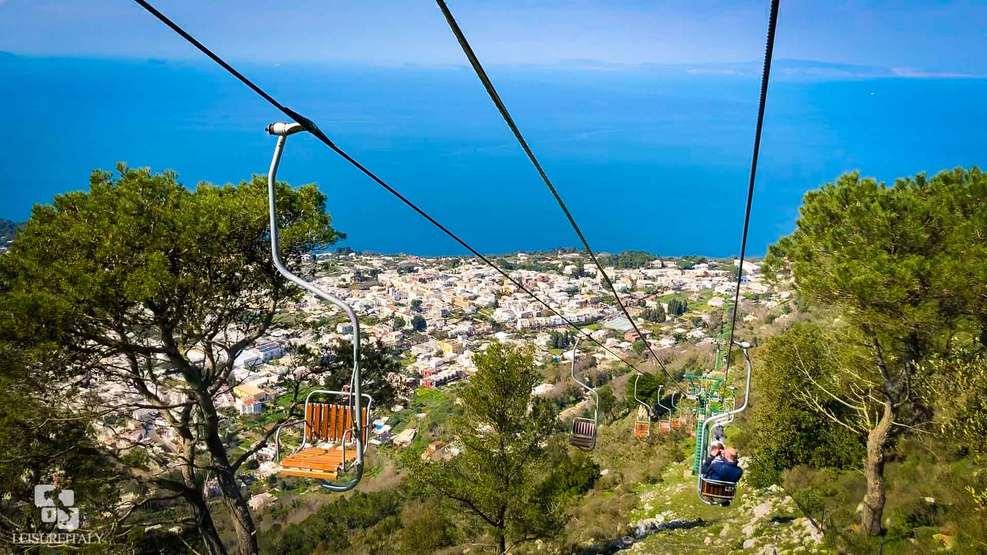 Capri Travel Tips Chairlift