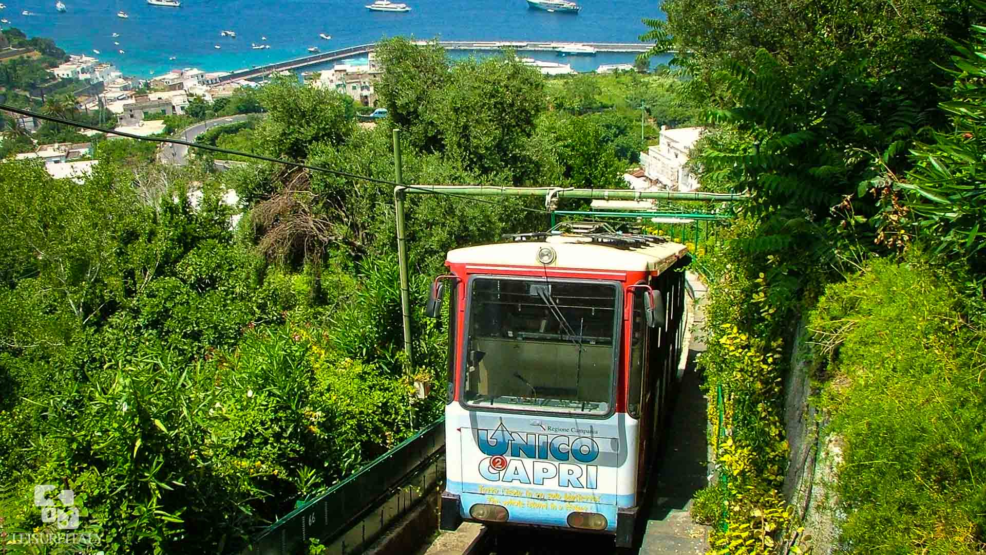 Capri Travel Tips Funicular