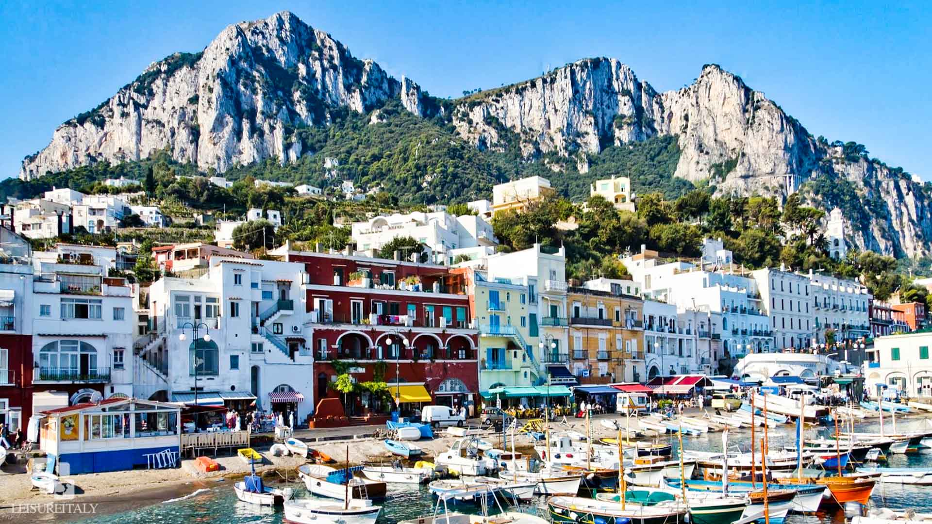 Capri Travel Tips Marina Grande
