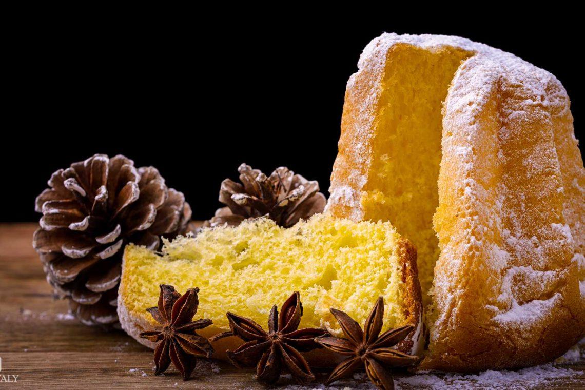 Pandoro - Italian Typical Christmas Pastries
