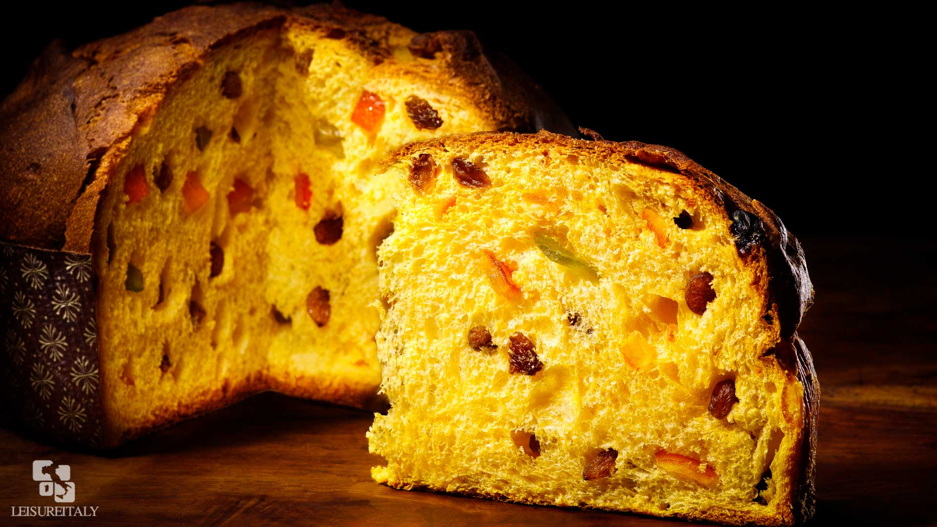Panettone - Italian Typical Christmas Pastries