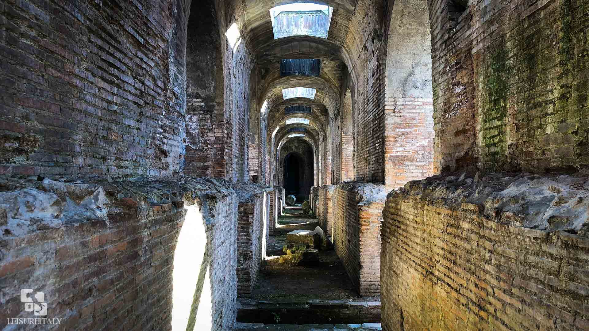 Amphitheatre of Capua inside