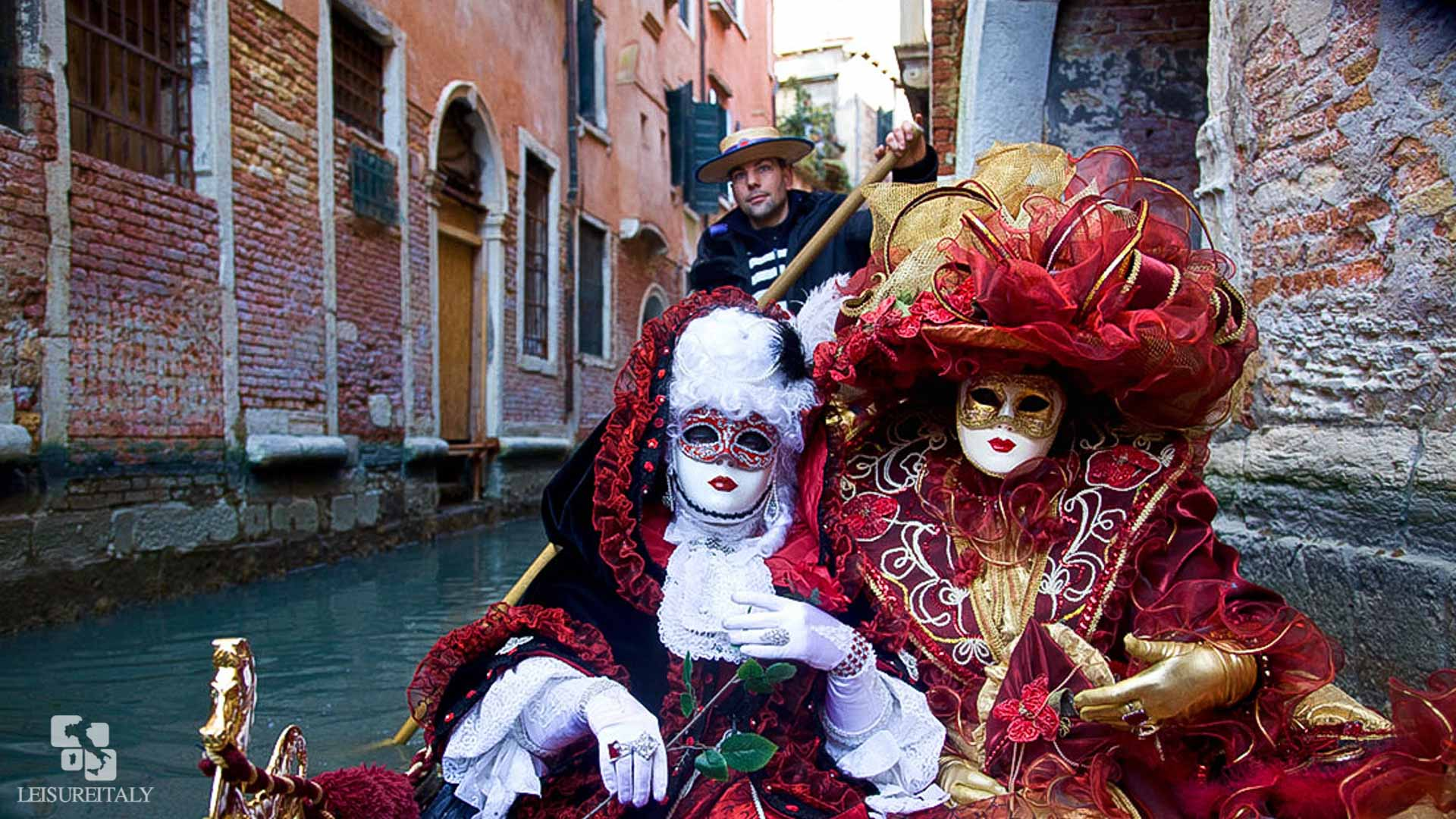 Masks on a Gondola