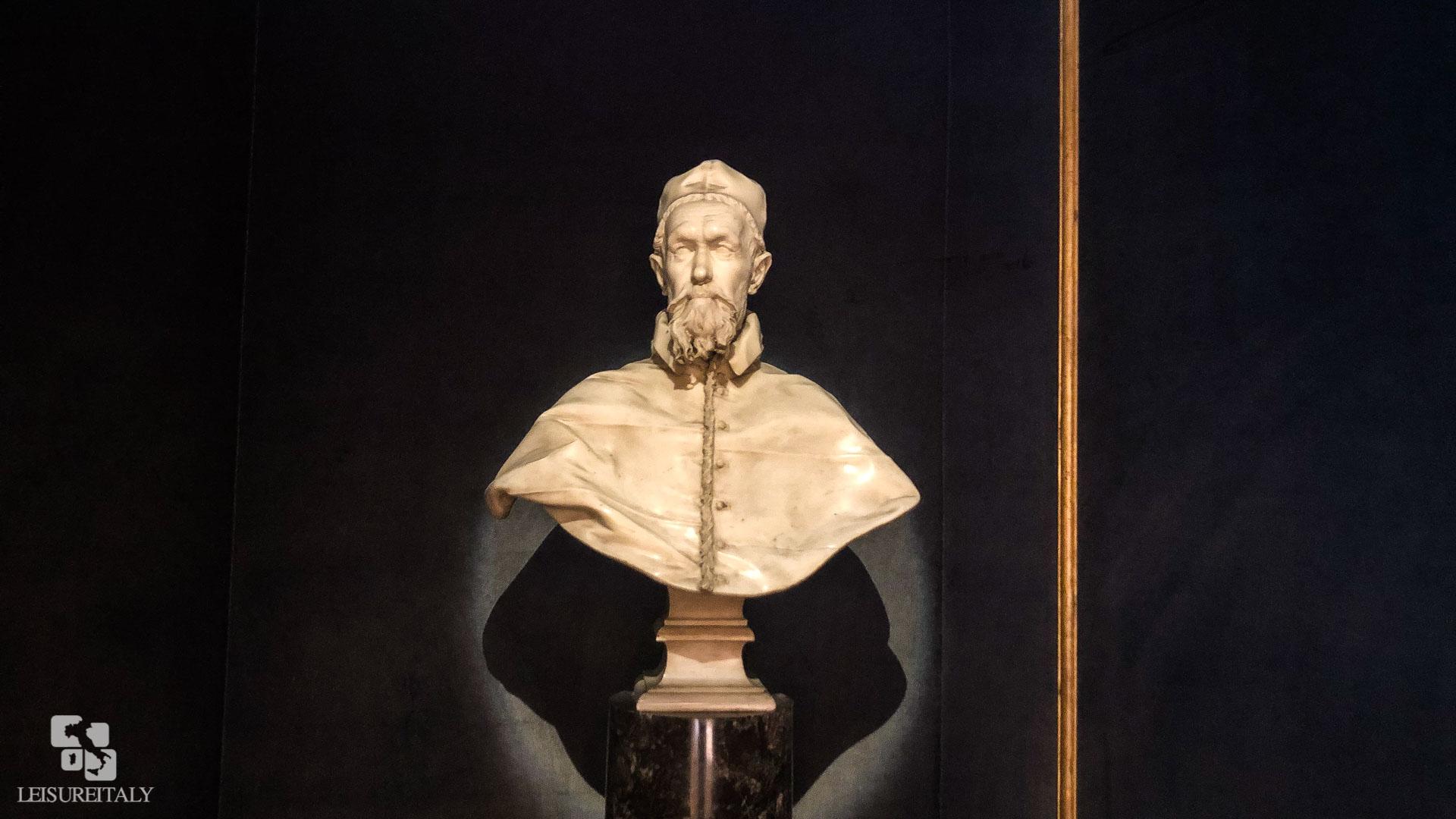 Doria Pamphilj Gallery - Marble Bust of Innocent X