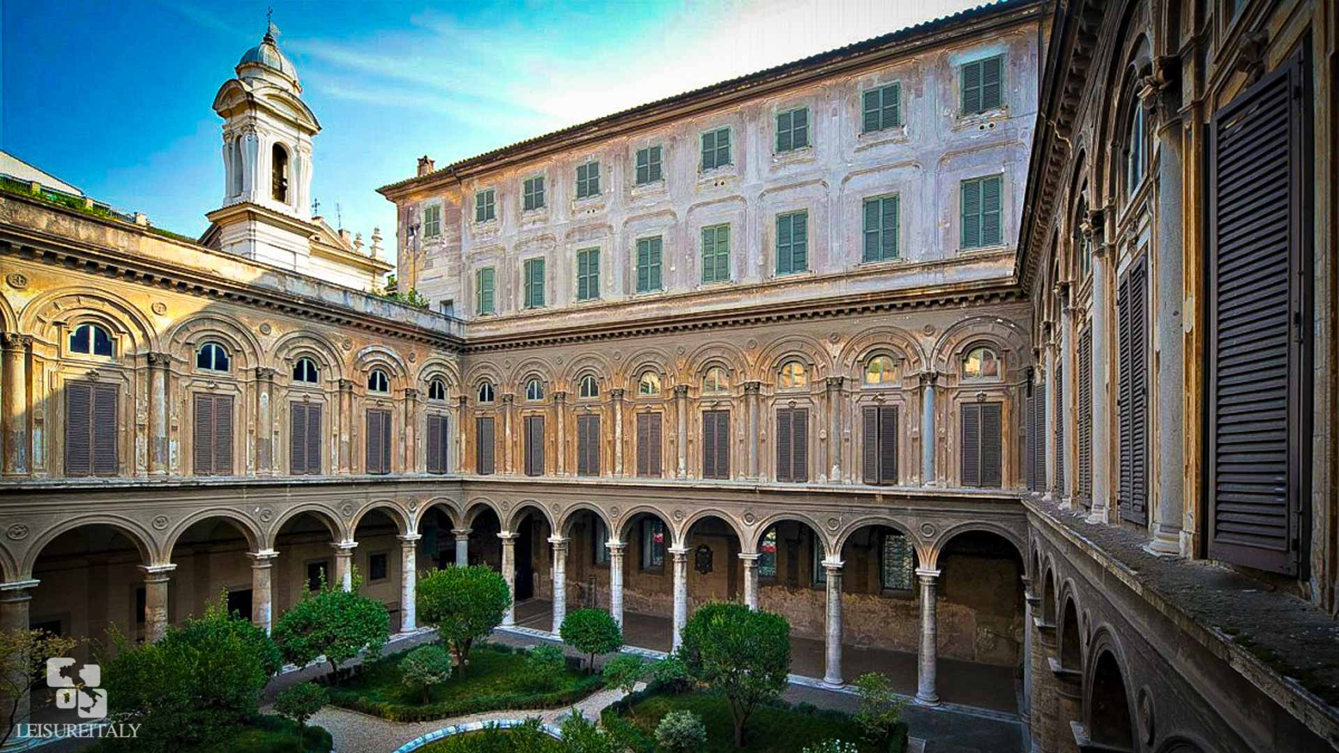 Doria Pamphilj Gallery - The Courtyard of the Palace
